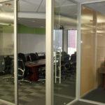 Webb walls Commercial Interior Glass. and Demountable walls