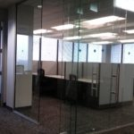 Webb walls Commercial Interior Glass. and Demountable walls . Tempered Glass. Skyler Glass - Interior Office