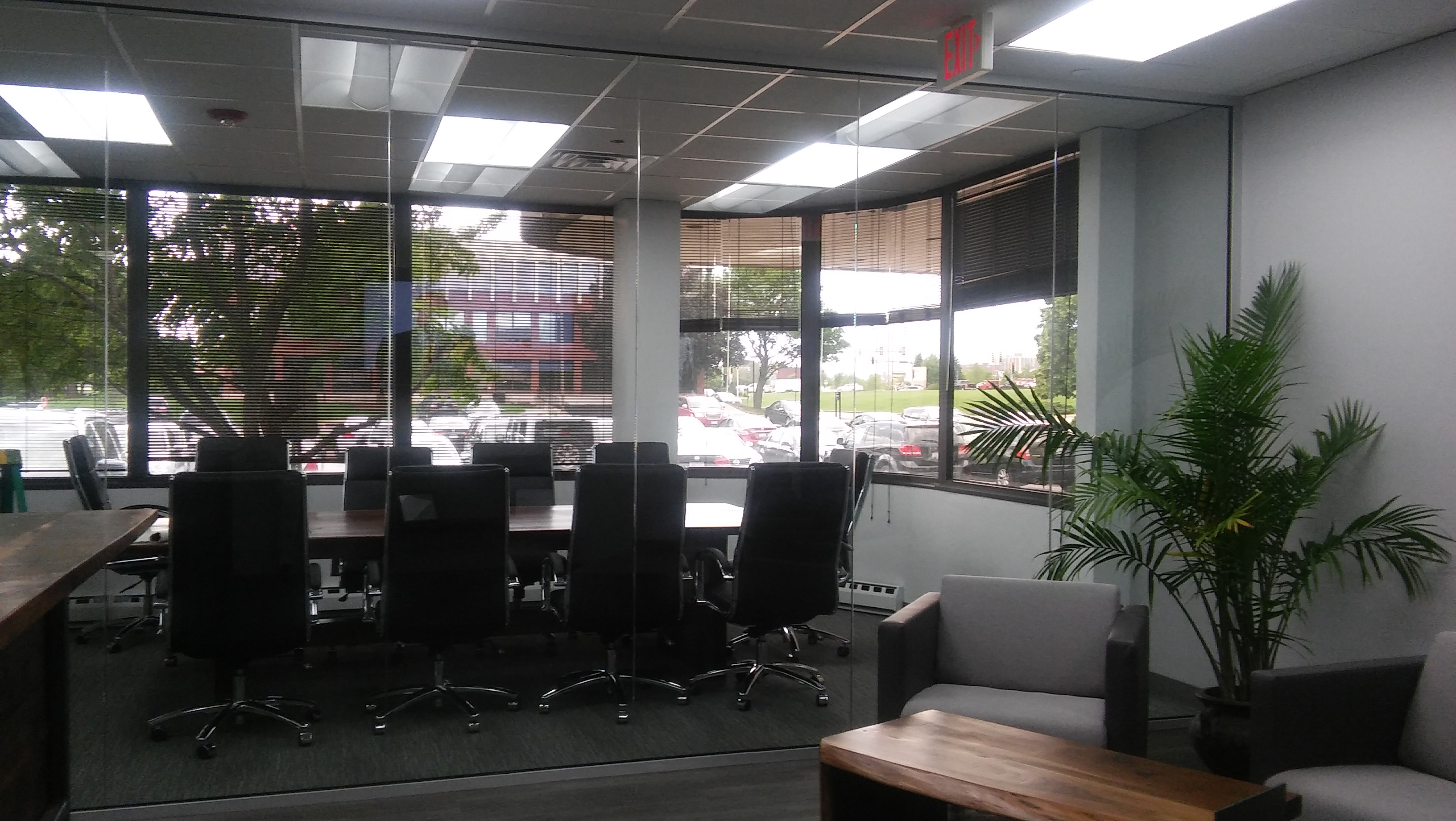 Webb walls Commercial Interior Glass. and Demountable walls . Tempered Glass. Skyler Glass
