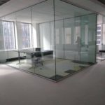 Webb walls Commercial Interior Glass. and Demountable walls. Tempered Glass - Skyler Glass Office