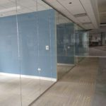 Webb walls Commercial Interior Glass. and Demountable walls. Tempered Glass - Skyler Glass Wall office