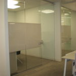 Webb Walls Commercial interior glass and demountable walls. Tempered Glass. Skyler Glass